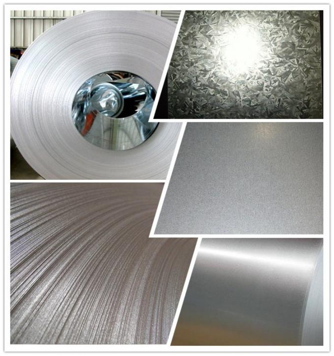 GI Coils Building Purlins Hot Dipped Galvanized Sheet Metal 900mm - 1250mm Width
