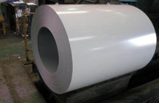 चीन White Prepainted Galvalume Steel Coil For Refrigerated Wagon आपूर्तिकर्ता