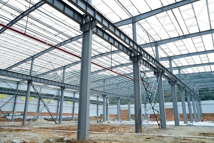 Economical Warehouse Steel Structure Fabrication And Design Q345B & Q235B