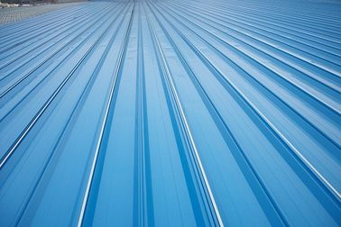 चीन Erosion Proof Corrugated Galvanized Steel Roofing Sheets Of Inter - Lock Type वितरक
