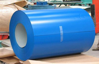 चीन Buildings Roofing Systems Prepainted Galvalume Steel Coil Blue For Steel Tiles फैक्टरी