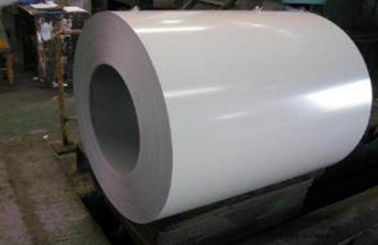 चीन White Prepainted Galvalume Steel Coil For Refrigerated Wagon फैक्टरी
