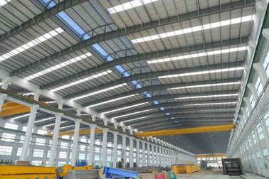 चीन Alkyd Paint Tubular Steel Structures With AWS , BS , EN , ISO Certificate वितरक