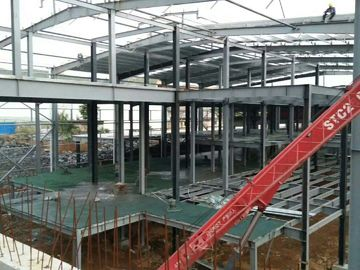चीन Multi - Floor Building Steel Frame Fabrication With Aluminum Alloy Window\ वितरक